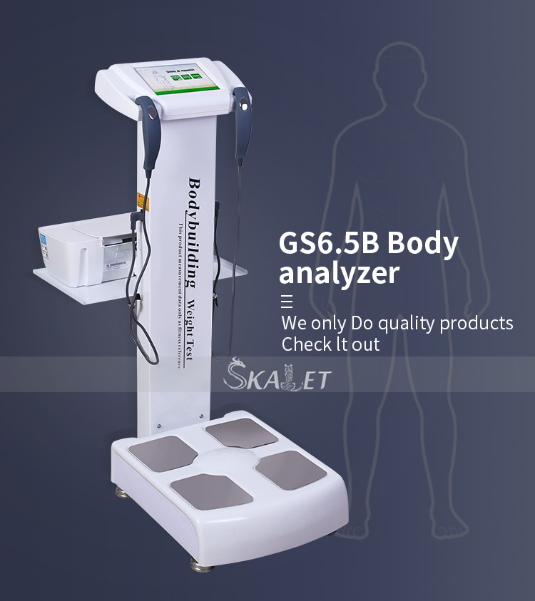 High Quality Smart Body Fat Composition Elements Analyzer Electronic Human Body Height Weighing Scale With Printer