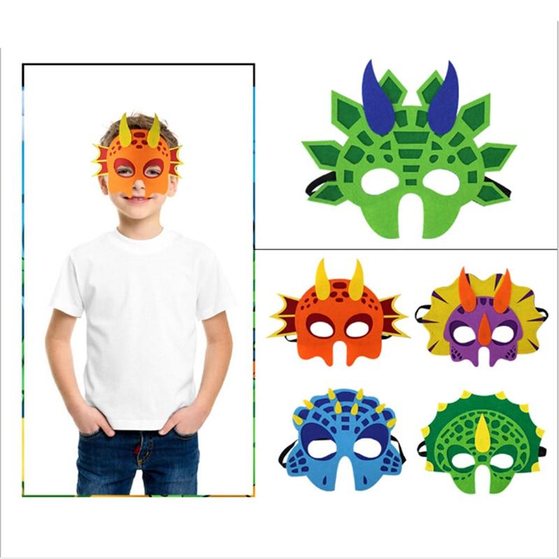 Маска динозавра для мальчиков и девочек, маскарадный костюм динозавра на день рождения, вечеринку, Хэллоуин, реквизит для фотобудки, маска