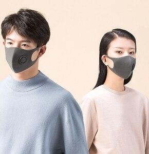 Image 5 - НОВЫЙ ФИЛЬТР маска Xiaomi Mijia Smartmi блок 97% PM 2,5 с вентиляционным клапаном долговечная термополиуретановая маска фильтр умный дом