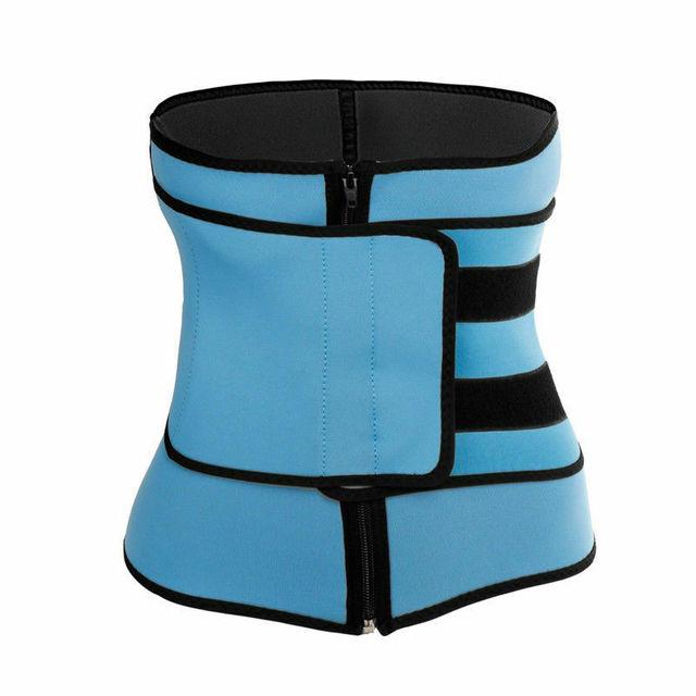 Lady Waist Trainer Neoprene Belt Sauna Sweat Body Shaper Tummy Control Slimmer 3
