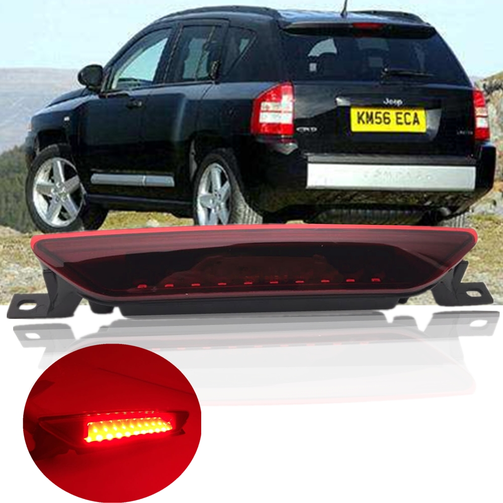Fit For Jeep Compass For Jeep Grand Cherokee Accessories Led Rear Brake Stop Tail Light for Dodge Caliber For Dodge Durango