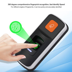 Image 5 - Alone RFID Fingerprint Access Control System Biometrische 125KHz Reader Türöffner Unterstützung SD Karte WG26 + 10 stücke Karten keyfobs