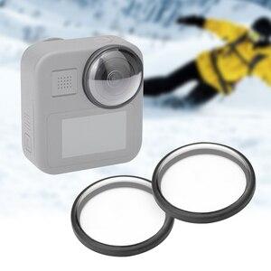 Image 3 - غطاء عدسة واقية لـ GoPro Max HD ، زجاج مقوى ، ملحقات كاميرا الحركة