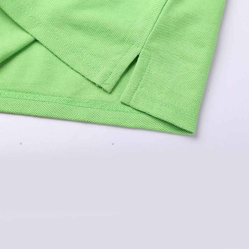 Мужская и wo Мужская Однотонная рубашка поло с длинными рукавами, комбинезоны с вышивкой логотипа, рекламная рубашка, фабричная одежда, печать на заказ