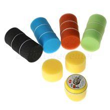 16Pcs/Set 2 Inch 50mm Sponge Polishing Buffing Pad Kit Hand Tool For Car Polisher Wax Buffer Car Polishing Pad Cleaning Tool