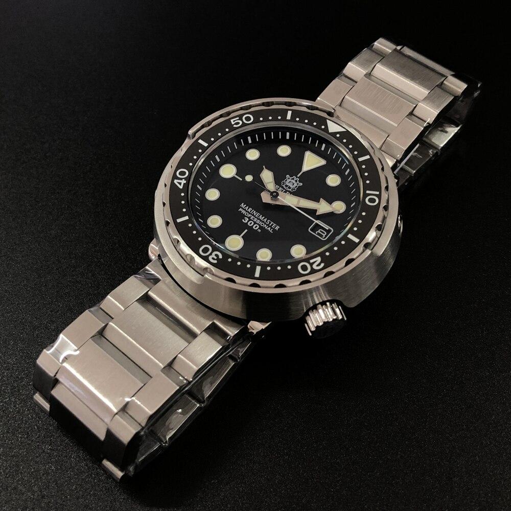 STEELDIVE Tuna Dive Watch 300m 316L Steel Diving Ceramic Bezel NH35 Automatic Watches Men 2019 Luxury Watch(China)
