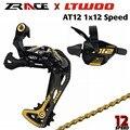 LTWOO ZU 12 Geschwindigkeit MTB Bike Shifter + Schaltwerk 12s + YBN Ketten Groupset Kompatibel für M8100 /M9100/ADLER für X0