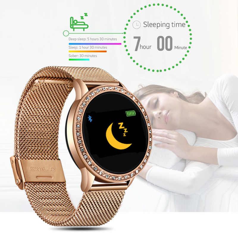LIGE Ladies Smart Watch Women Blood Pressure Heart Rate Monitor Fitness  tracker Sport Smart Band Alarm clock reminder Smartwatch| | - AliExpress