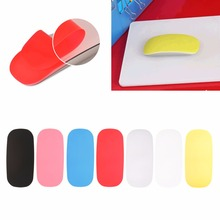 Multicolor Soft Ultra-thin Coque Skin Cover for Apple Magic Mouse Case Silicon Solid Mouse Cover Au06 19 Dropship
