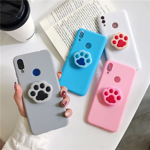 Cat Dog Paw Print Soft Case for Xiaomi Mi 5X 6X 8 9 SE Lite 9T Pro Mix 2S Max 2 3 F1 Play CC9e CC9 Pro A1 A2 A3 Note 3 10 Cover(China)