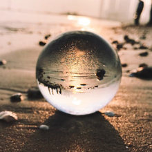 80mm Magic Crystal Ball Quartz FengShui Photography Glass Sphere for Home Decoration Fashion