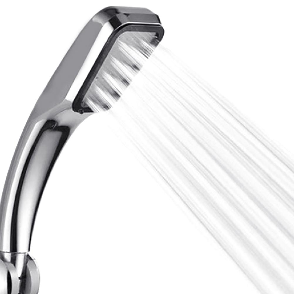 New High Pressure Bathroom Pressurized Water Saving 300 Holes Square Shower Head Sprayer Nozzle