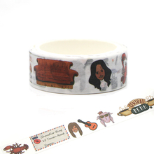 CA153 The Friends Washi Tape Adhesive Tape DIY Decoration Sticker Scrapbooking Diary Masking Tape Stationery Sticker газетница schein rembrandt 0616h хром