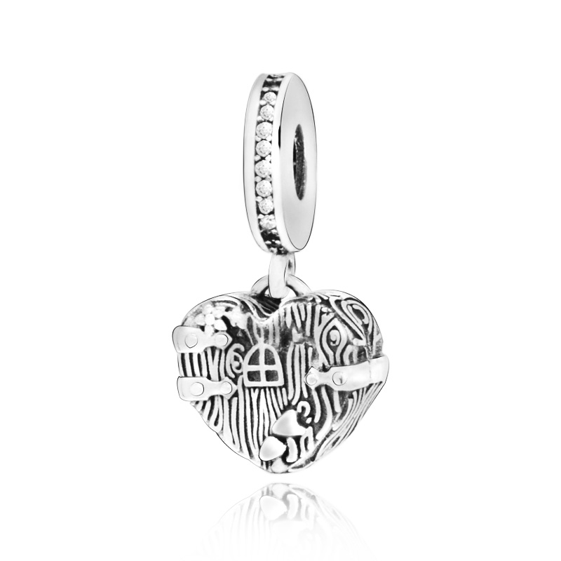 2019 Autumn New 925 Sterling Silver Beads Home Sweet Heart Dangle Charms Fit Original Pandora Bracelets Women Diy Jewelry Beads Aliexpress