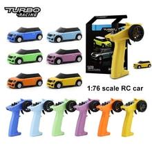 Turbo Racing 1:76 RC автомобиль мини полный удаленный пропорциональный электрический комплект RTR игрушки 2,4G Красочные гоночный опыт автомобиль нов...