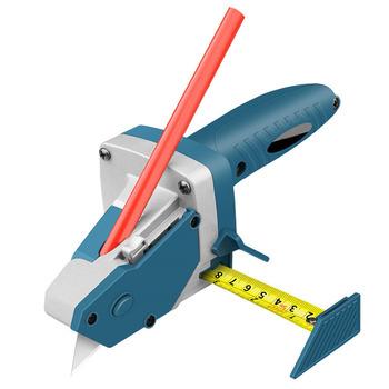 Narzędzie do cięcia płyty gipsowe wygodny tynk gipsowy ze skalą Scribe narzędzia do cięcia drewna nóż introligatorski EM88 tanie i dobre opinie Aleekit Cutting tools