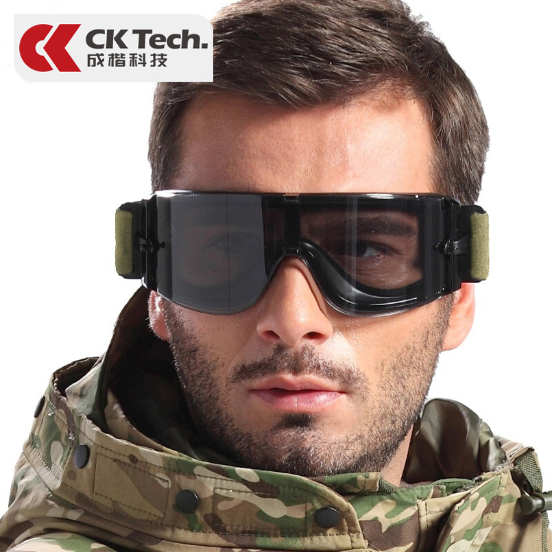 CK Tech.Military Goggles Airsoft Paintball Gear Tactical Safety Googles Outdoor Hunting Shooting Army Protection Glasses