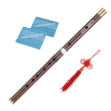Professional Bamboo Dizi Flute Traditional Handmade Chinese Musical Woodwind Instrument Key of C/D Study Level flute intermediate concert nickel silver band with pads musical instrument c key toy musical instrument