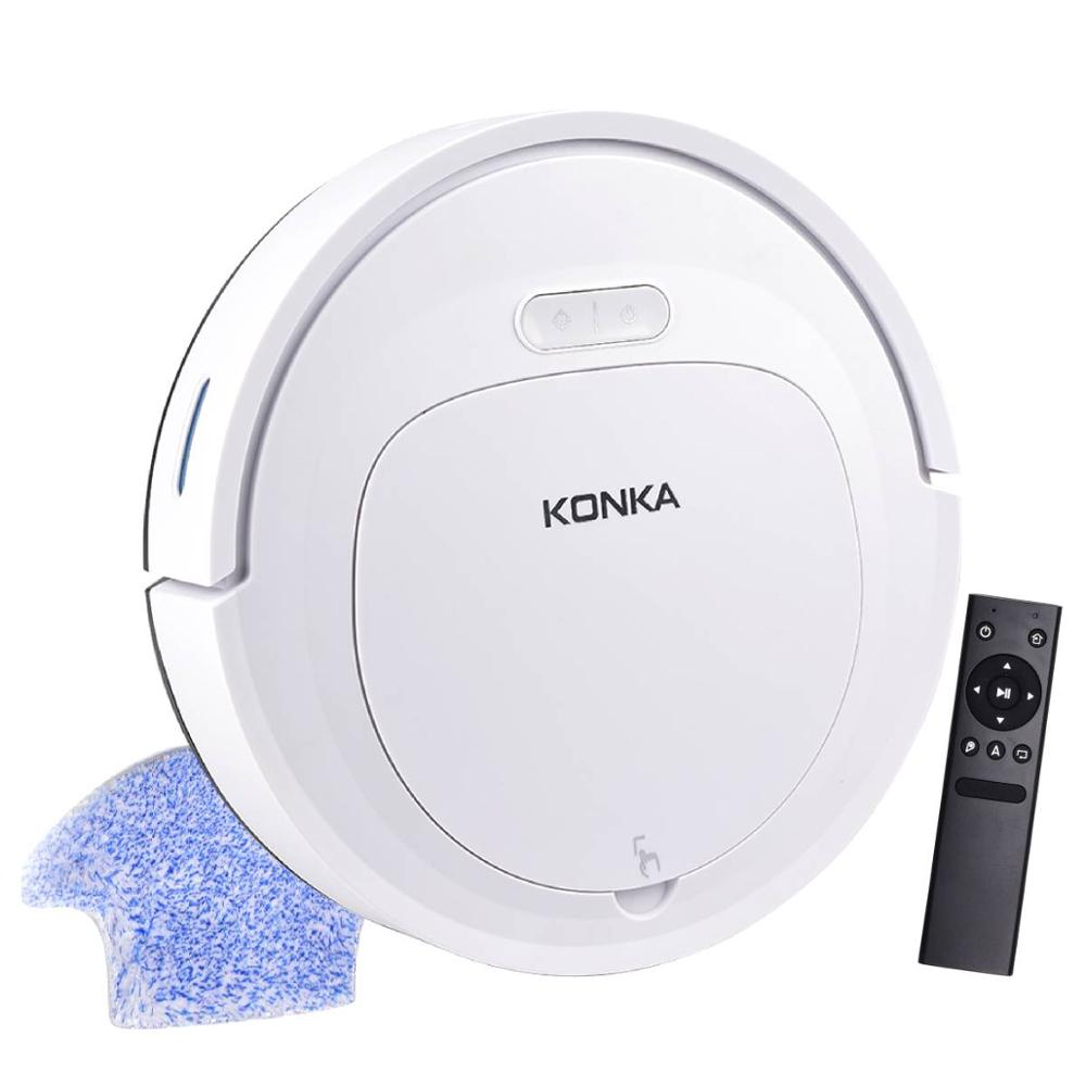 IKONKA V88 Automatically Chargeable Robot Vacuum Cleaner For Hard Floors and Carpet