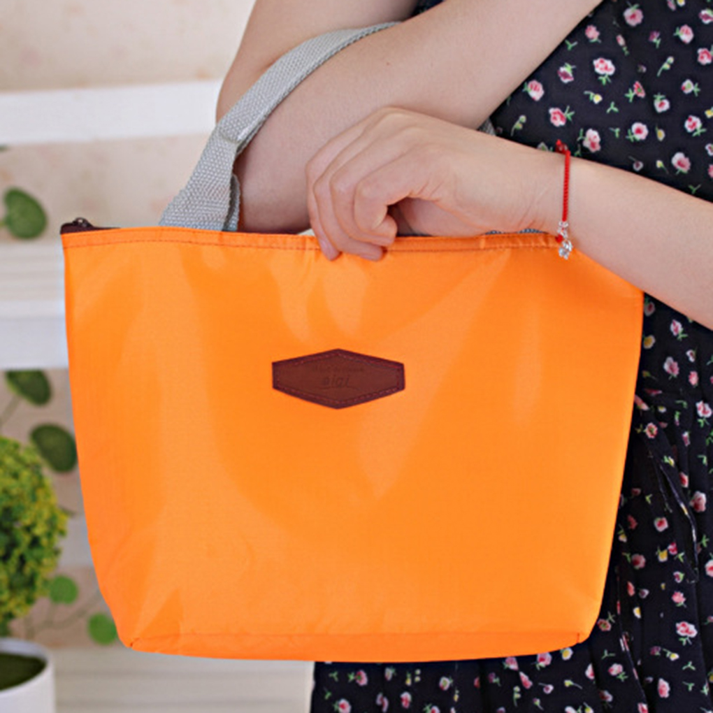 Thermal Insulated Large Capacity Waterproof Portable Picnic Insulated Food Storage Box Tote Oxford Fabric Lunch Bag