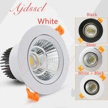 Светодиодный потолочный светильник COB потолочные точечные светильники 3 Вт 5 Вт 7 Вт 12 Вт 15 Вт 20 Вт 30 Вт 40 Вт