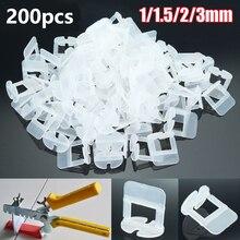 200 Adet Çini Tesviye Paspayı Klipleri Döşeme Döşeme Aracı Raimondi Sistemi 1/1/1 5/2/2.5/3mm