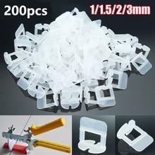200Pcs Tegel Nivellering Spacers Clips Vloeren Betegelen Tool Voor Raimondi Systeem 1/1. 5/2/2.5/3mm