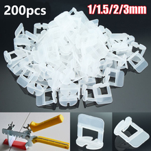 200Pcs Tile Levelling Spacers Clips Flooring Tiling Tool For Raimondi System 1/1.5/2/2.5/3mm