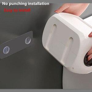 Image 2 - 浴室ティッシュボックス送料パンチ紙タオルホルダー紙仕上げラック電話スタンドポータブルトイレトレイ浴室の棚