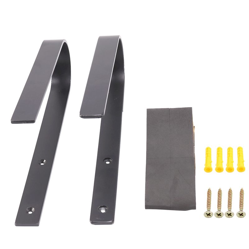 1 Pair Snowboard Wall Mount | Display Wall Rack | Surfboard Rack Wall Mount Snowboard Protective Lining