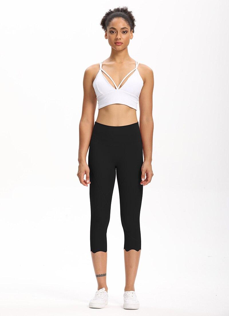 Hb50e20693291402c8f54d4a8b4d7f7a2o Cardism High Waist Sport Pants Women Yoga Sports Gym Sexy Leggings For Fitness Joggers Push Up Women Calf Length Pants Wave