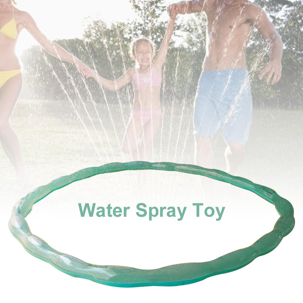 200CM Children Lawn Sprinkler Hoop Ring PVC All-round Cooling Water Splash Toy