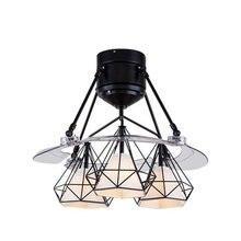Современные Простые потолочные светильники в скандинавском стиле