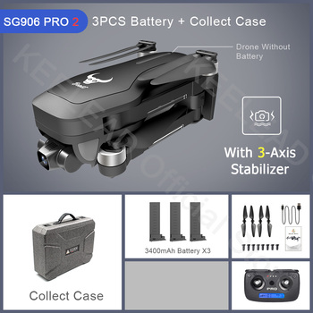 ZLRC Beast SG906 Pro 2 Brushless Motor with 3-Axis Gimbal GPS 5G WIFI FPV Professional 4K Camera RC Drone Quadcopter Dron PRO2 13