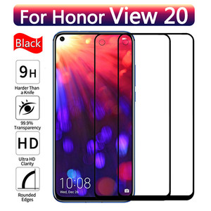 Protective Glass on For Huawei Honor View 20 v20 Full Coverage Tempered glass Screen Protector huawey Honor V 20 View20 film(China)