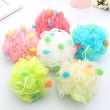 Sponge Bath-Ball Bath-Towel-Strap Bathroom Soft for 1pcs Choose Multi-Color Large Lovely