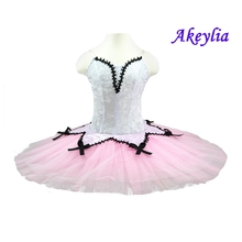 Peach Fairy Classical Ballet Tutu Dresses Adult Pink Nutcracker Tutus Platter Girls