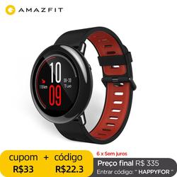 Оригинальные Смарт-часы Amazfit Pace Amazfit, Смарт-часы с Bluetooth, GPS, информацией, пульсометром, интеллектуальным монитором
