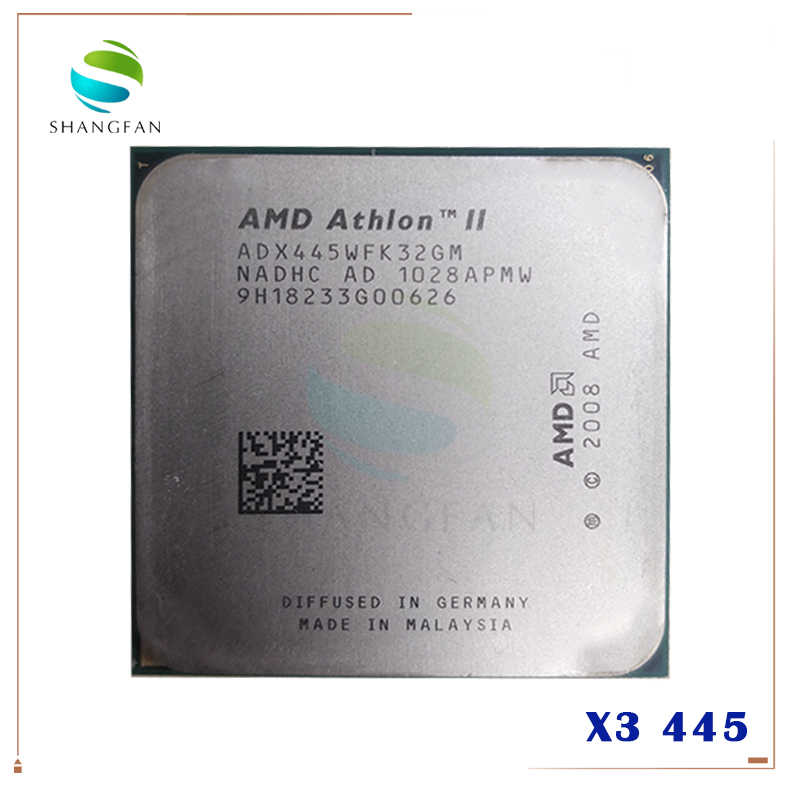AMD Athlon II X3 445 3.1 GHz potrójne-Core procesor CPU ADX445WFK32GM gniazdo AM3 938pin
