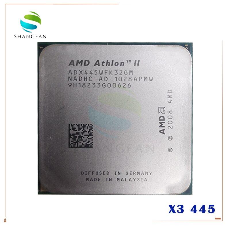 Amd athlon ii X3 445 3.1 GHz potrójne Core procesor cpu ADX445WFK32GM gniazdo AM3 938pin w Procesory od Komputer i biuro na title=