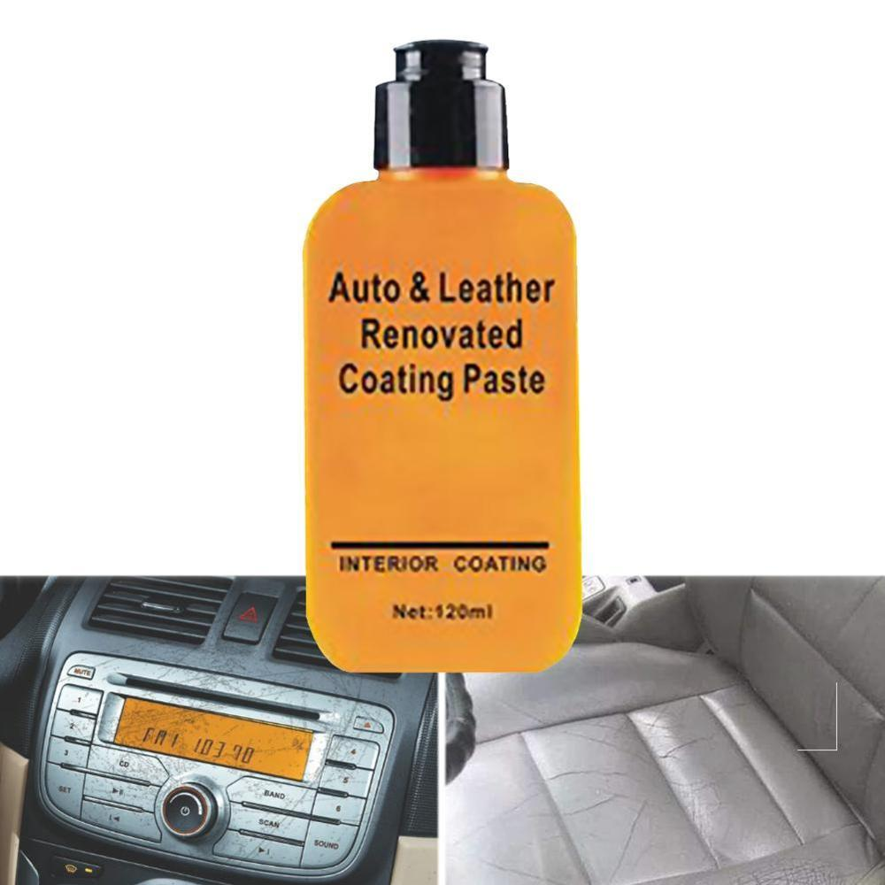 Leather Repair Cream Automotive Interior Auto & Leather Renovated Coating Paste Maintenance Agent Leather Refurbishing Cleaner