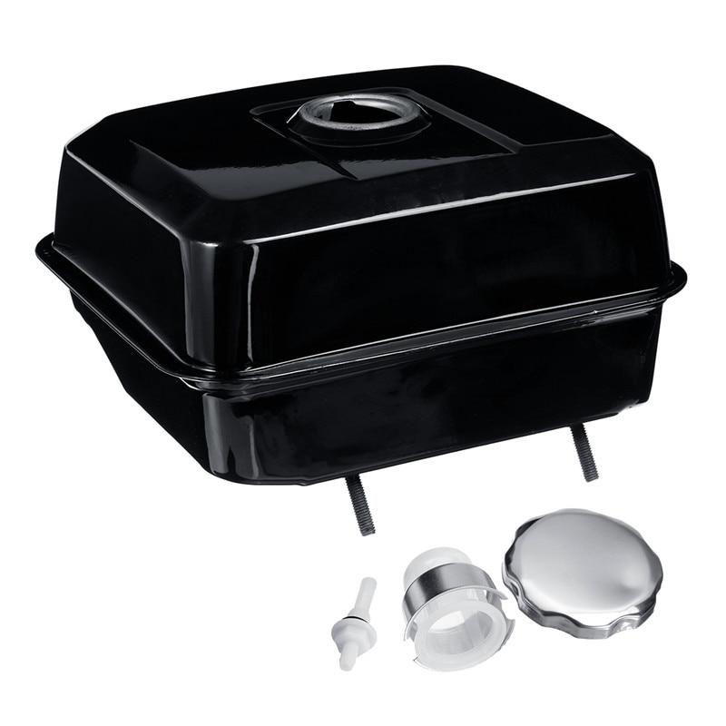 Tools : Black Fuel Gas Petrol Tank With Petcock Gas Cap Strainer Filter For Honda GX240 GX270 GX340 GX390 Engine Lawnmower