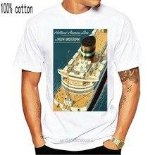 Camiseta Vintage para hombre y mujer, póster de viaje, Países Bajos, Países Bajos, América