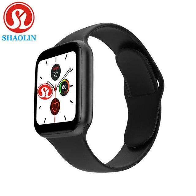 Bluetooth Smart Uhr Serie 6 44MM Mann Frau Smartwatch für Apple Uhr iPhone Android Telefon Fitness Tracker Update IWO 8 9 12