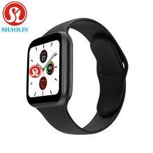 Bluetooth akıllı izle serisi 6 44MM erkek kadın için Smartwatch Apple iPhone Android telefon spor izci güncelleme IWO 8 9 12