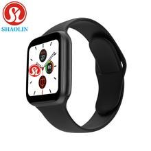 Bluetooth inteligentny zegarek seria 6 44MM mężczyzna kobieta Smartwatch dla Apple zegarek iPhone Android telefon Fitness Tracker aktualizacja IWO 8 9 12