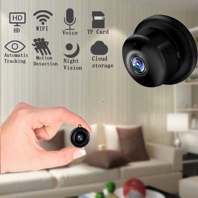 Ip-Camera Wifi Night-Vision Mini Smart-Surveillance Home-Security 1080P Wireless Baby-Monitor