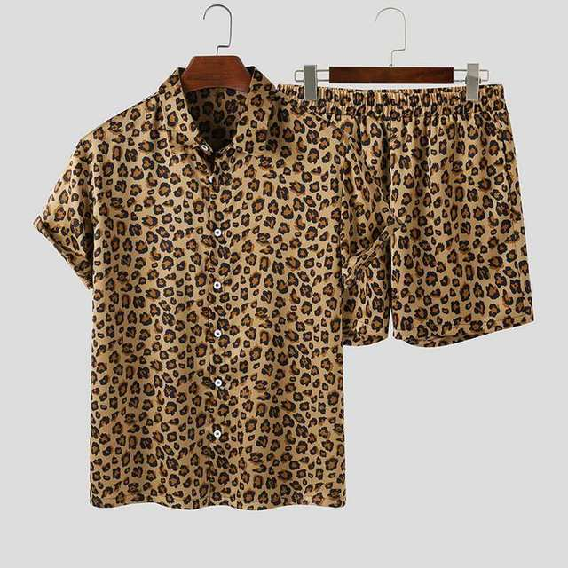 Co-ord Leopard Print Bech Suits 2