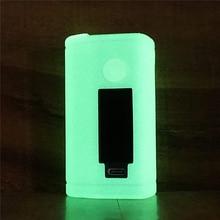 Texture étui pour ASMODUS Minikin 3S 200w Kit boîte mod Vape Kit Silicone couverture peau manchon Gel de protection pour Minikin V3