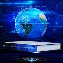 3d Магнитная левитационная цветная лампа глобус ночсветильник